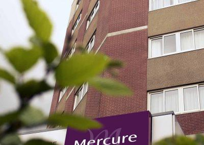 Mercure Hotel Nijmegen Centre Facade day