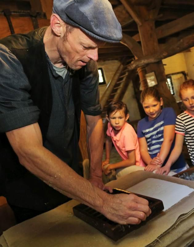 Nederlands Openluchtmuseum Papierfabriek